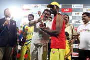 Ccl 4 Kerala Strikers Vs Chennai Rhinos Match Stills 96
