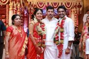 Vikram With Amala Paul And Director Vijay 451