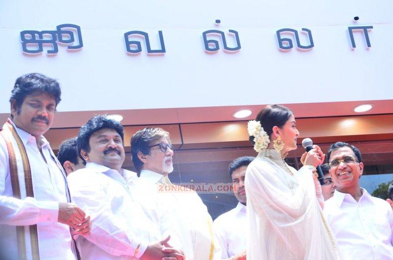 Album Kalyan Jewellers Chennai Showroom Launch Function 7862
