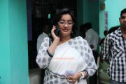 Kanaka Pressmeet At Her Residence