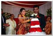 Actress Karthika Wedding Stills 1