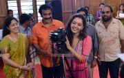 Manju Warrier At Life Through Lens Exhibition