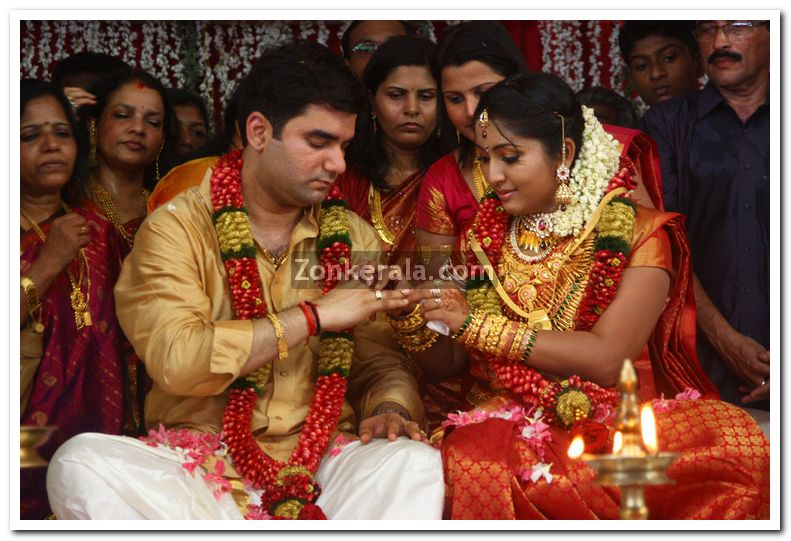 Navya Nair Marriage Photos 2