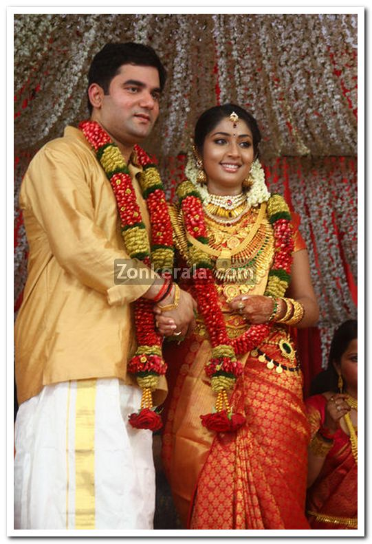 Navya Nair Wedding Photos 14