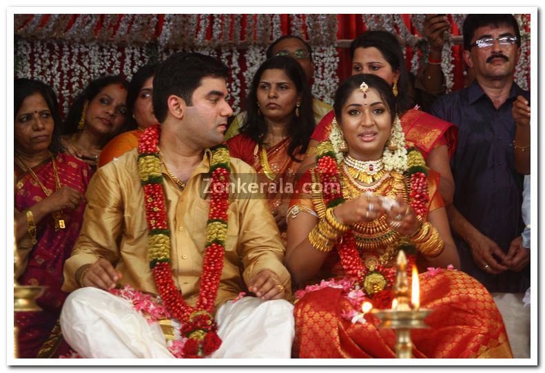Navya Nair Wedding Photos 2