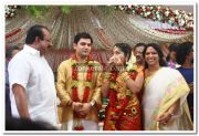 Navya Nair With Guests 4