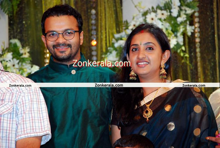 Movies : Events : Prithviraj Wedding Reception : Jayasurya And Family
