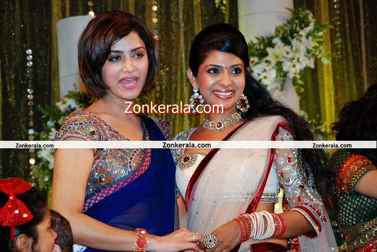 Mamtha Mohandas And Poornima Indrajith Malayalam Movie Event