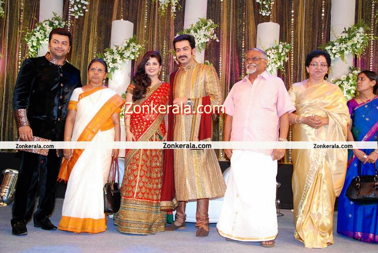 Prithviraj Supriya Marriage Reception Still 10