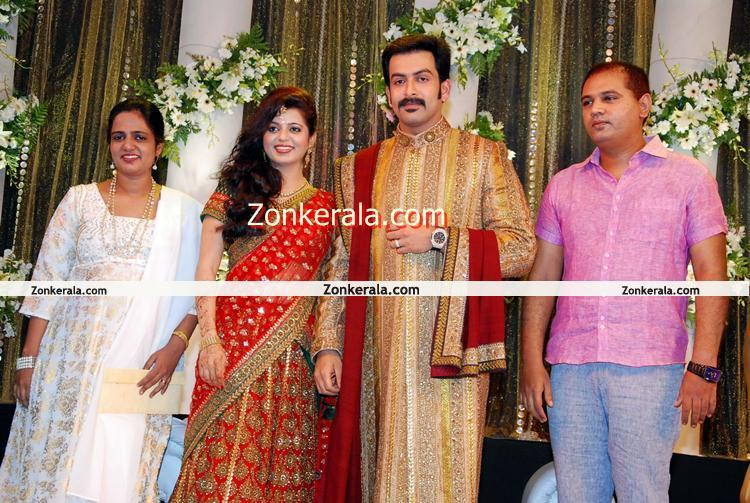 Prithviraj Supriya Marriage Reception Still 11 Malayalam Movie