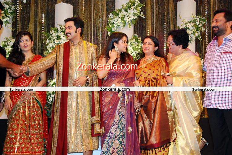 Prithviraj Supriya Menon Marriage Reception 5