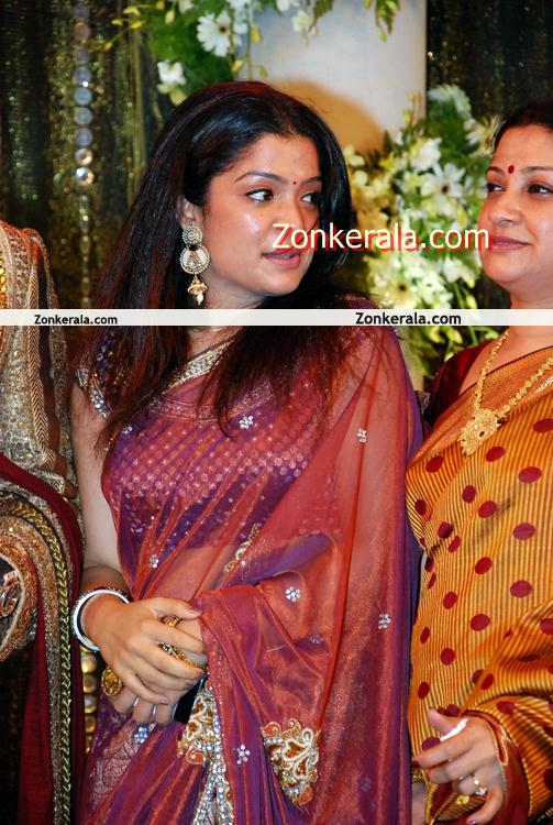 Prithviraj Supriya Menon Marriage Reception 6