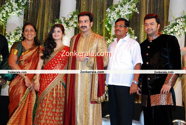 Prithviraj Wedding Reception Photo 1