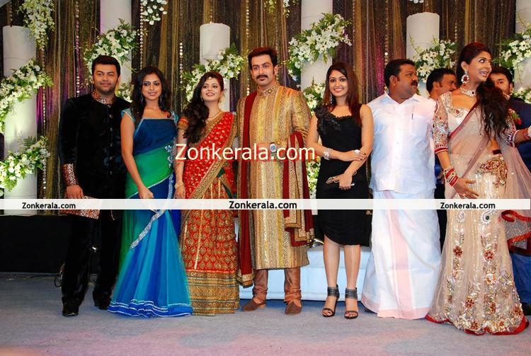 Prithviraj Wedding Reception Photo 9 Malayalam Movie Event
