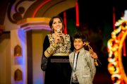 Sanoop And Sanusha At Siima Awards 2014 380