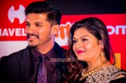 Vijay Yesudas And Darshana At Siima Awards 2014 950