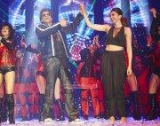 Latest Pic Shahrukh Khan And Deepika Padukone At Slam Finale 909