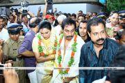 Swetha Menon And Sreevalsan Menon 2